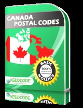 IGEOCODE CA Postal Code Basic Edition