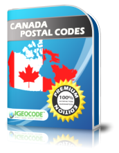 IGEOCODE CA Postal Code Premium Edition