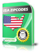 IGEOCODE US ZIP Code Basic Edition full screenshot